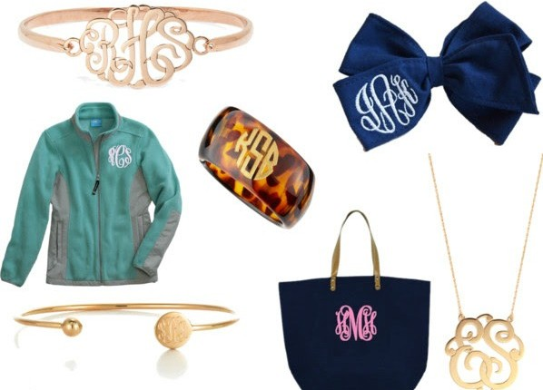 ThePreppyU: Monogram It
