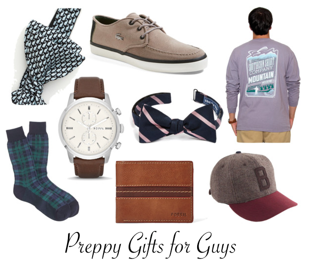 Preppy Gifts for Guys